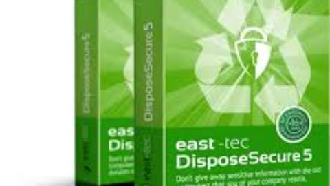 East-Tec DisposeSecure 5 – Licenta GRATUITA