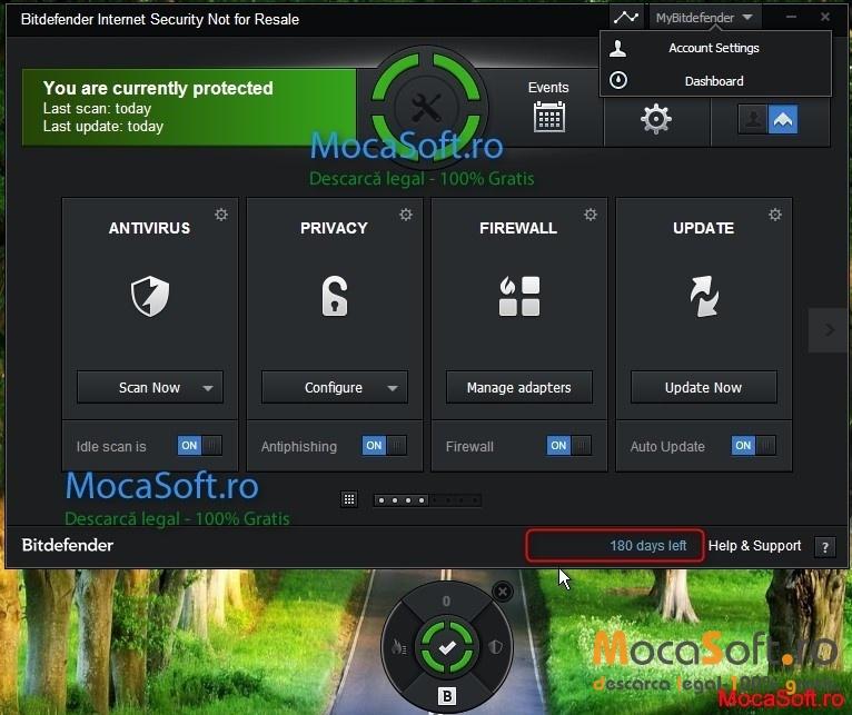 bitdefender internet security screenshot