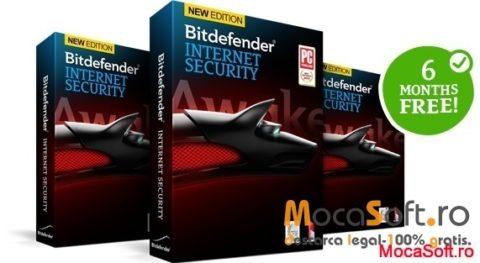BitDefender Internet Security 2014 – Serial / Licenta Gratuita pentru 6 luni