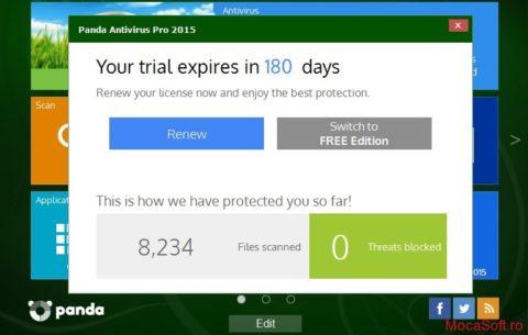 Panda Cloud Antivirus Pro 2015 – Licenta Gratuita/ Serial