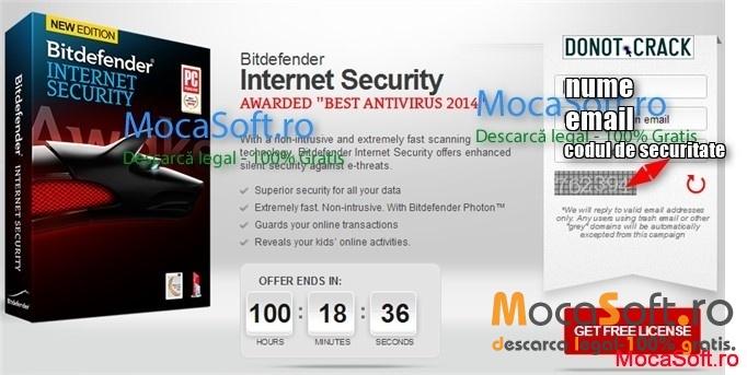 BitDefender Internet Security 2014 promotie