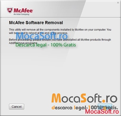 mcafee unistaller tool