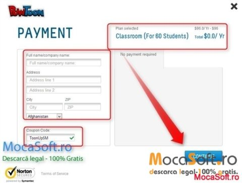 Powtoon Classroom Cont Gratuit pentru 1 An – In valoare de  $96