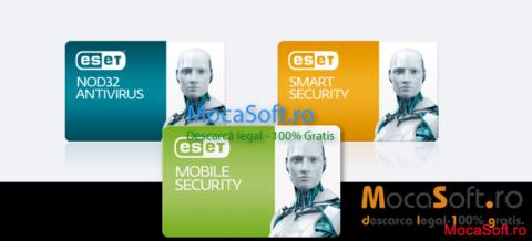 ESET Mobile Security pentru Android, Windows Mobile & Symbian Gratuit 1 an,  ESS, EAV 3 Luni