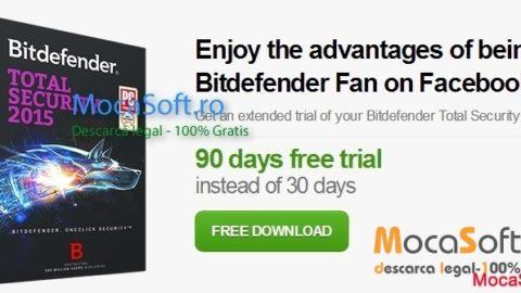 Bitdefender Total Security 2015 Gratis pentru 3 luni