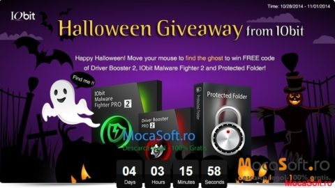 IObit de Halloween ofera GRATIS – Driver Booster, Protected Folder sI Malware Fighter