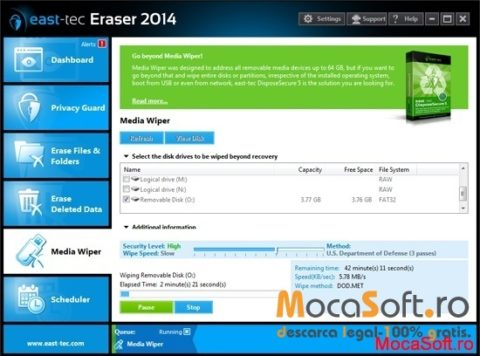 Descarca Gratis East-Tec Eraser 2014