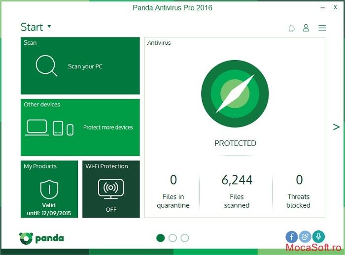 Panda Antivirus Pro 2016