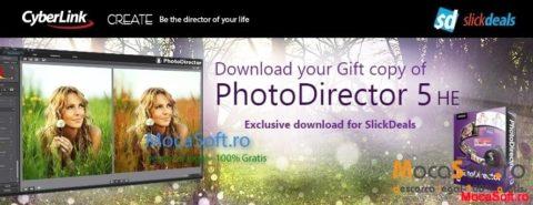 Descarcă CyberLink PhotoDirector 5 HE GRATIS – Promotie