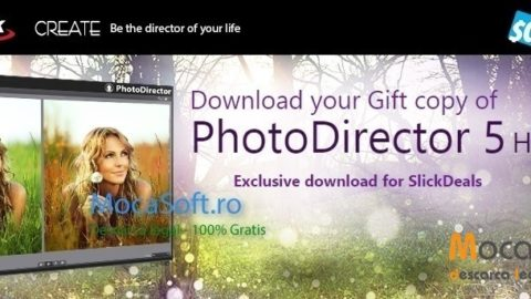 Descarcă CyberLink PhotoDirector 5 HE GRATIS – Promotie