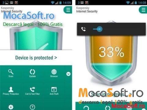 Kaspersky Internet Security Pentru Android Gratis 1 An / serial key