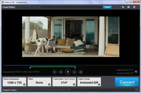Aoao Video to GIF Converter Licenta Gratis