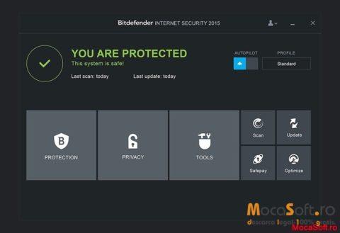 Bitdefender Internet security 2015 – Licenta / serial GRATUIT Pentru 9 luni