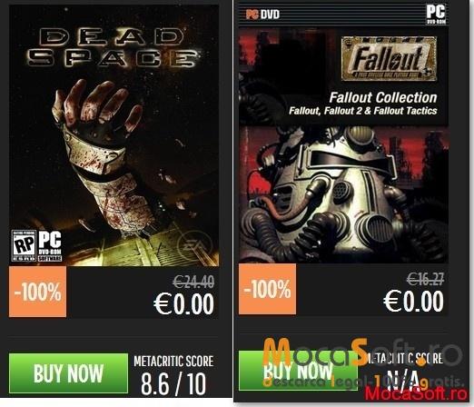 Descarca Gratis Dead Space si Fallout Collection