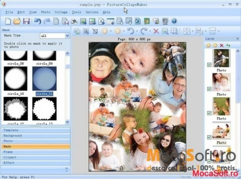 Picture Collage Maker Gratuit Versiune Full (Serial Key – Win & Mac)