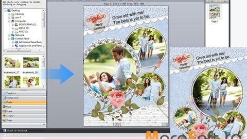 PearlMountain Picture Collage Maker – Promotie