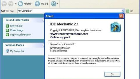 HDD Mechanic Standard – Licenta Gratuita (promotie limitata)