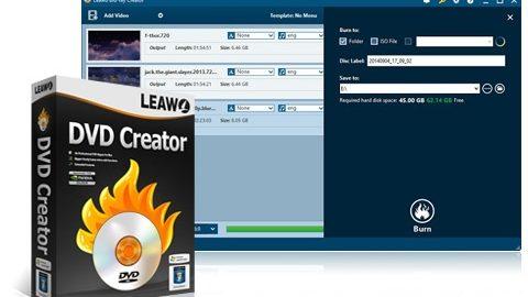 Leawo DVD Creator – Licenta Full Gratis, cod de inregistrare