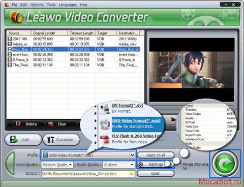 Leawo Video Converter – Licenta Gratis / Serial