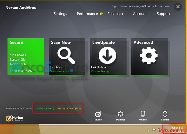 Norton Antivirus 2014 – cu licenta GRATUITA pentru 6 luni