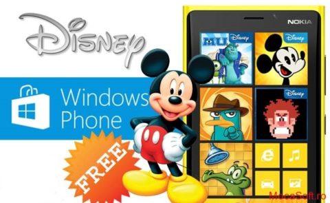 Jocuri Gratis De La Disney – Pentru Windows 8 & Windows Phone