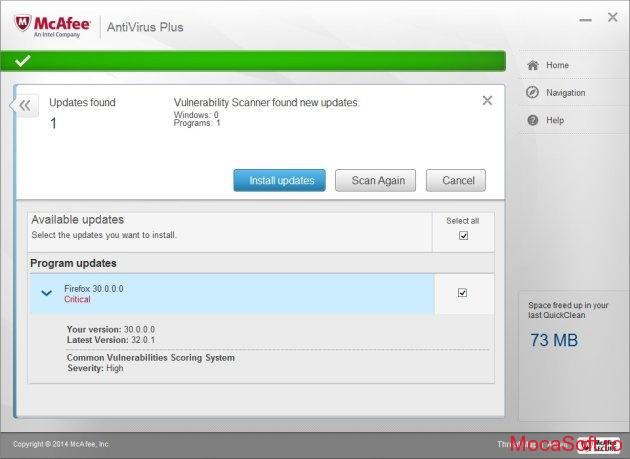 McAfee AntiVirus Plus 2015 - Licenta Gratis