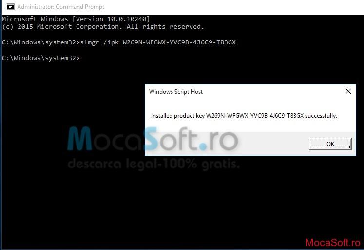 Cum Activez Windows 10 build 10240