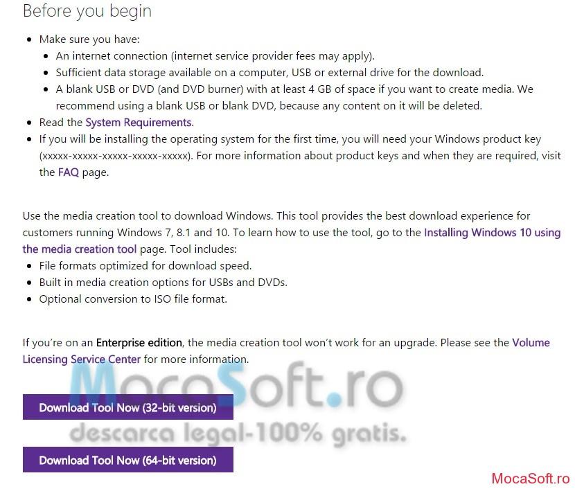 Download Windows 10 - Imagine iso
