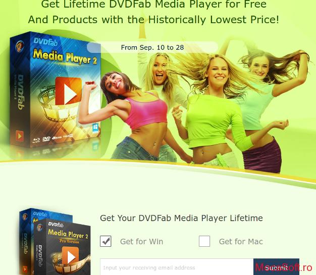 DVDFab Media Player 2.5 - Licenta Gratis