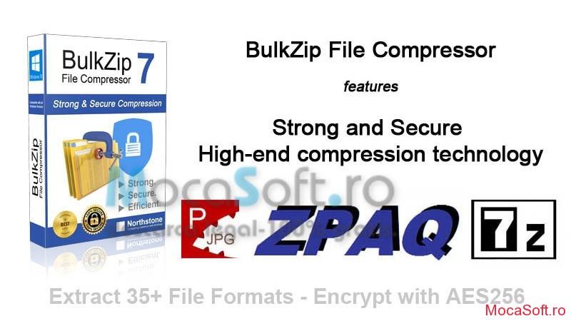 BulkZip v.7.5 cu Licenta gratis