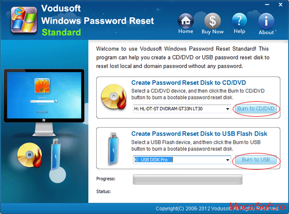 Windows Password Recovery Tool Standard Descarca GratisFull