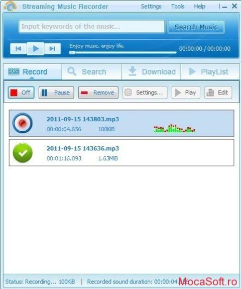 Apowersoft Streaming Audio Recorder – Gratuit