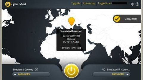 CyberGhost VPN Premium Licenta Gratis pentru 1 An