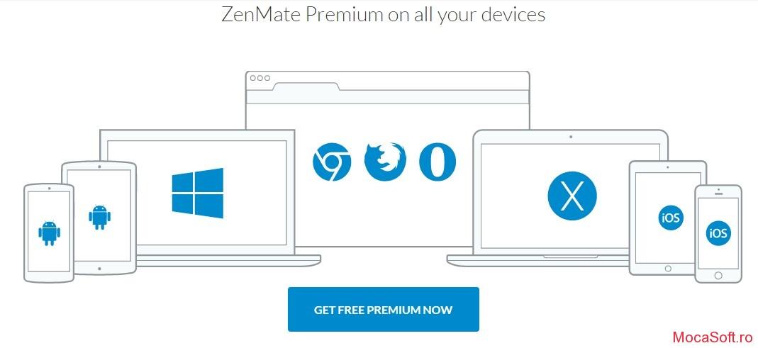 ZenMate Premium - Gratis