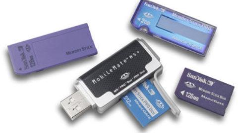 Recuperare spațiu pierdut de pe carduri sau stick-uri de memorie