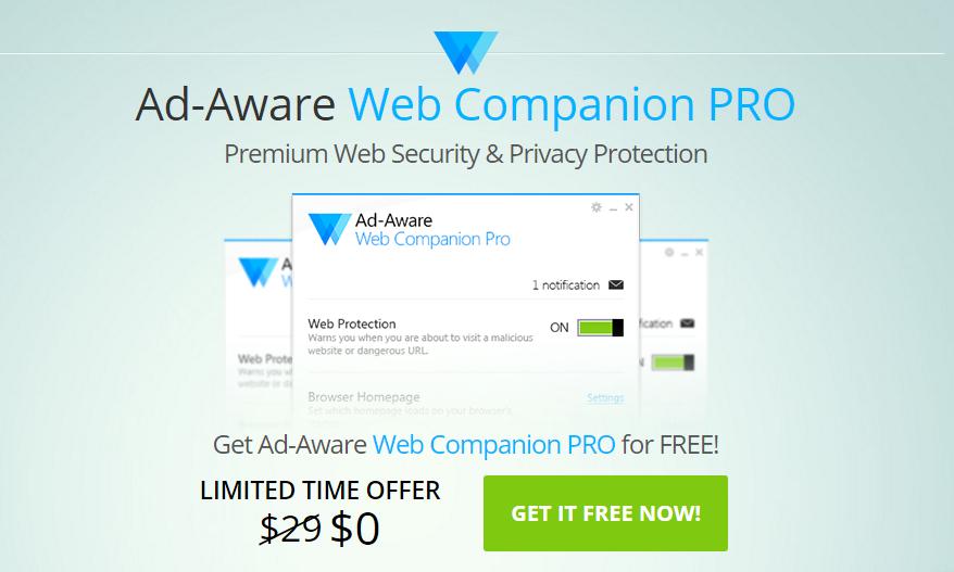 Ad-Aware Web Companion PRO Licenta Gratis