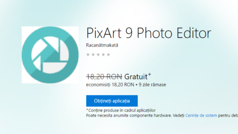 PixArt 9 Photo Editor – Gratuit pentru Windows 10