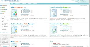 winorganizer-goldensection-notes-goldensection-reader-goldensection-dataserver-picasafe