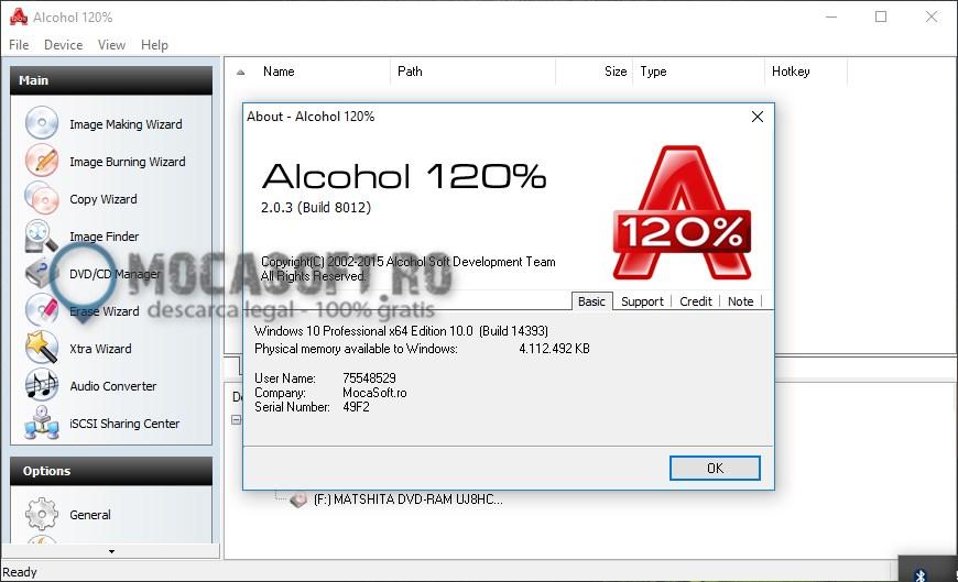 Photo of Alcohol 120% – Licență Gratis 1 An