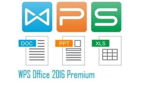 WPS Office Premium 2016 – licenta Gratis
