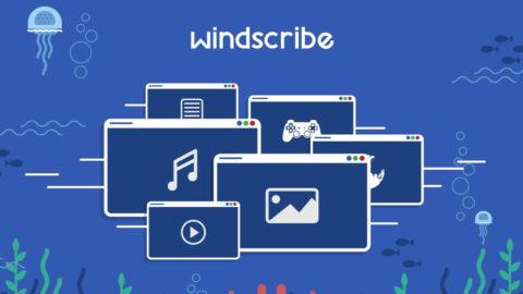 Windscribe VPN – 20 GB Gratuit
