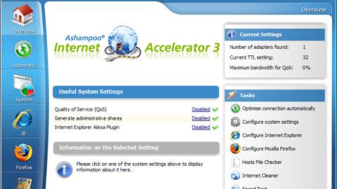 Ashampoo Internet Accelerator 3 – Licență Gratuită