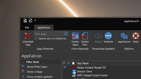 AppFalcon- Professional Uninstaller Licenta Gratis Pentru 1 An