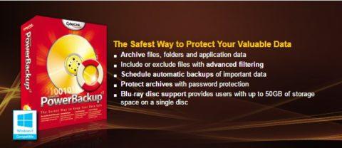 Cyberlink PowerBackup v2.5 – Licență Gratis!
