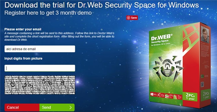 Dr.Web Security Space 11.0 - Licenta GRATIS
