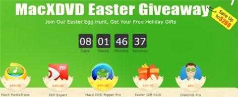 MacXDVD Easter Egg Hunt – Programe Gratis in Valoare de $269