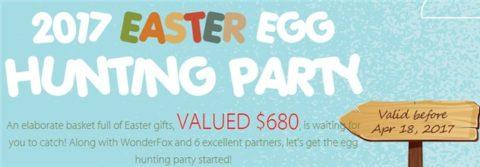 WonderFox 2017 Easter Egg Hunting Party (9 Programe Gratis)