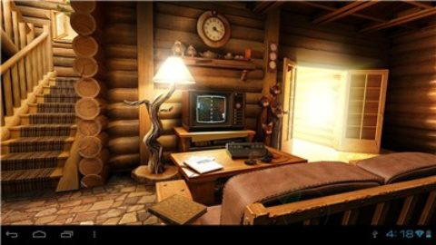My Log Home 3D Live wallpaper Gratuit / Android