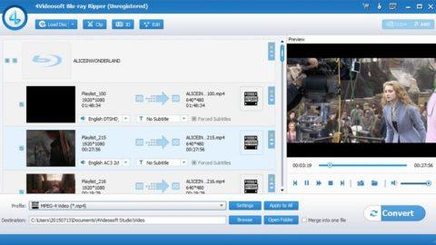 4Videosoft Blu-ray Ripper Licență Gratis
