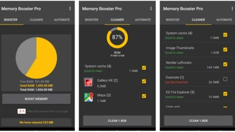 Memory Booster for Android Pro Gratuit